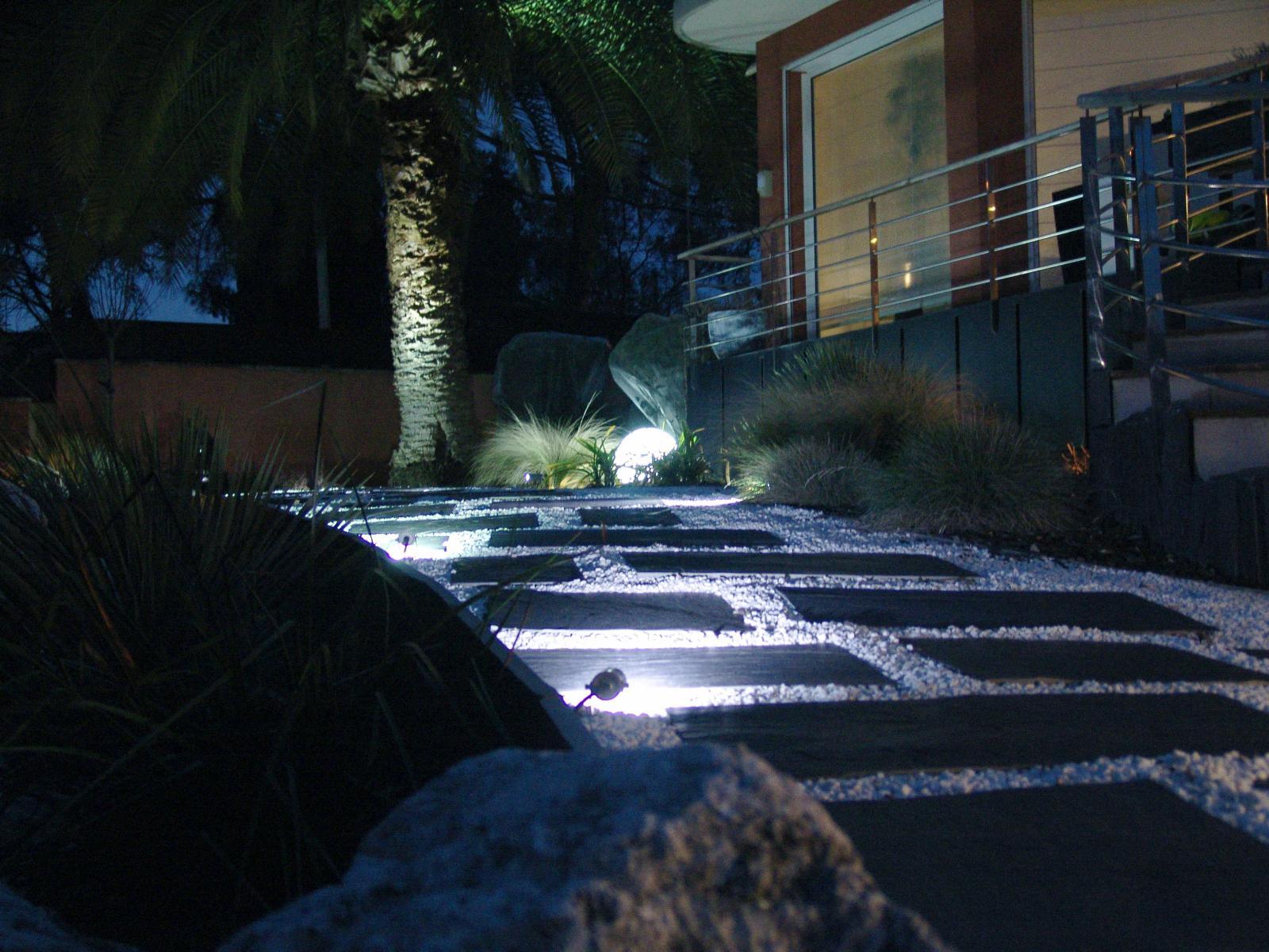 Eclairage Vert Parc Createur De Jardins Paysagiste Creation De