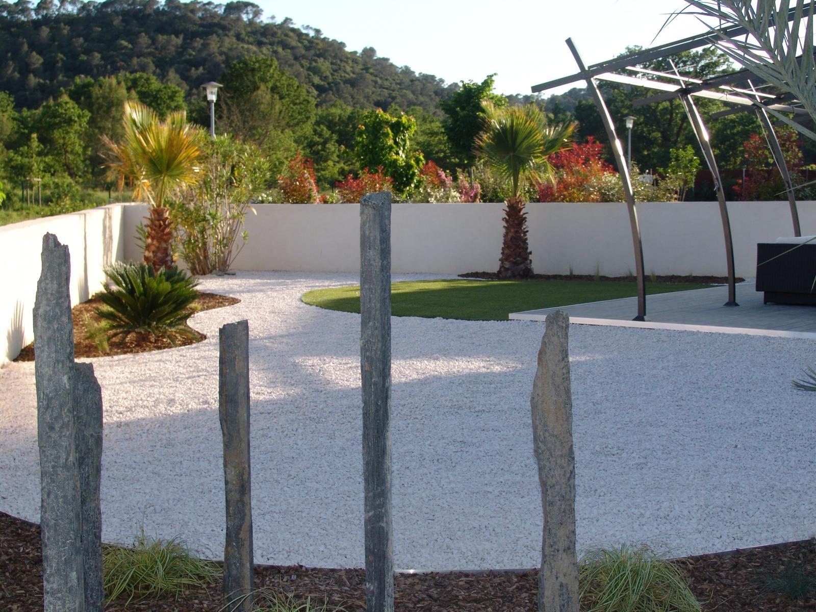 Paillage / Minéraux - Vert Parc, créateur de jardins - Paysagiste ...