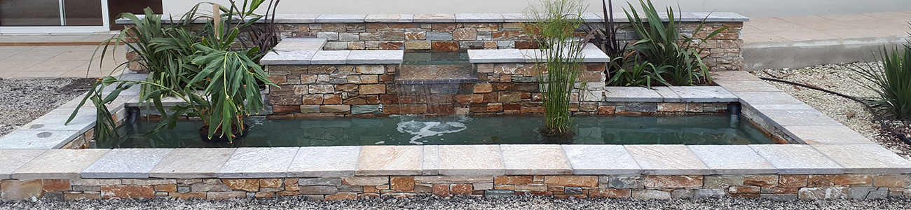 Fontaine Bassin Vert Parc Createur De Jardins